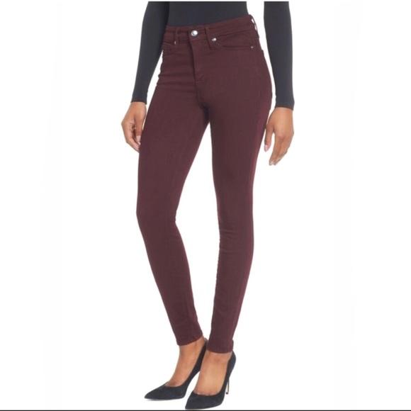 cef422cba955 Good American Denim - GOOD AMERICAN Good Legs High Waist Burgundy Jeans!